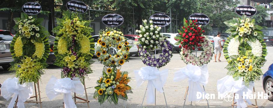 Banner hoa tang lễ