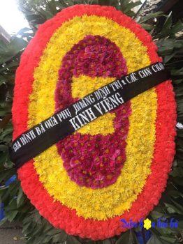 Đặt vòng hoa tang lễ tại Hà Nội cỡ đại đại