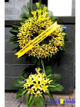 Đặt hoa tang lễ ly vàng tại Hà Nội