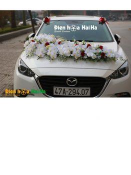 Mẫu xe hoa cưới bằng lụa hồ điệp siêu đẹp mã XHG-103 sang trọng nhất (1)