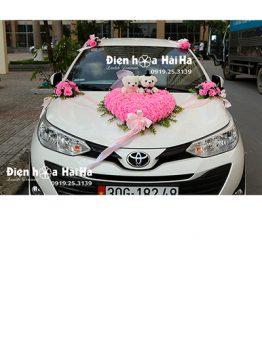 Mua hoa giả trang trí xe cưới giá rẻ mẫu đặc biệt mã XHG-137 sang trọng (1)
