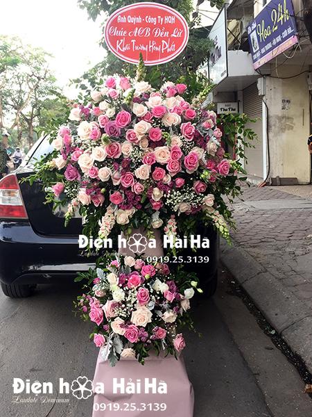 Đặt hoa tươi chúc mừng khai trương - Hồng Phát