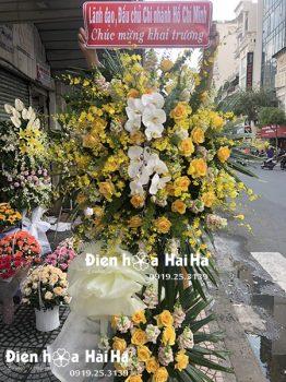 Lẵng hoa lan mừng khai trương - Thịnh Vượng