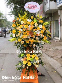 Hoa mừng khai trương giá rẻ