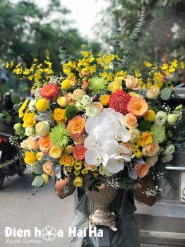 Bình hoa sinh nhật sang trọng - Phú Qúy