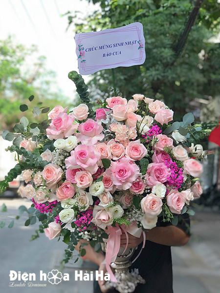Bình hoa tặng sinh nhật đẹp
