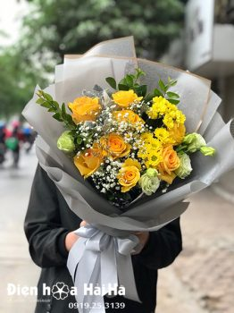 Bó hoa tặng sinh nhật