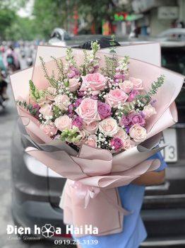 Bó hoa chúc mừng - Sweetie