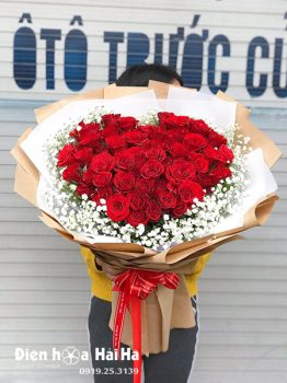 Bó hồng đỏ chúc mừng - Sweetie