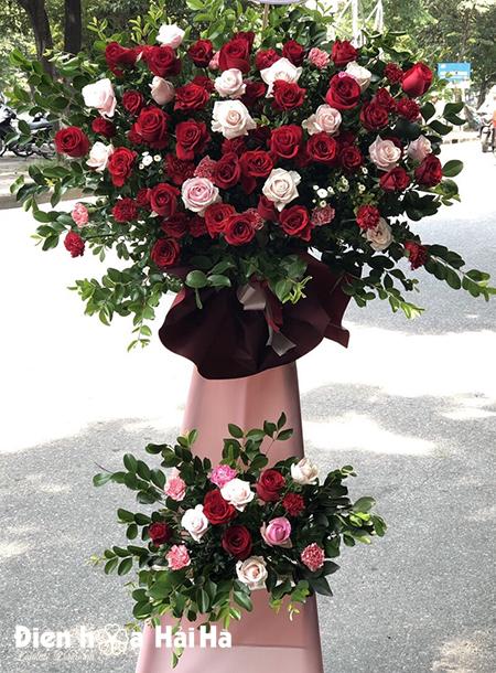 Hoa mừng khai trương cửa hàng thành công rực rỡ