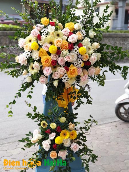 Hoa tặng khai trương nhẹ nhàng tinh tế
