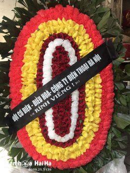 Vòng hoa tang lễ giá rẻ tại Hà Nội